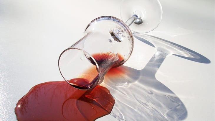 赤ワインの染みには