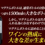 1本でワイン2本分マグナムボトルのワインとは