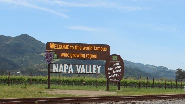 カリフォルニアワインの銘醸地ナパバレー